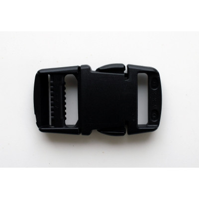"BLACK  BUCKLE YKK EASY RELEASE 1""  AC1021"