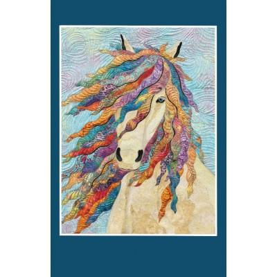 CARTE D'ART TEXTILE (CA031), LIVRAISON GRATUITE/Choisir Cueillette en Magasin