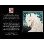 CARTE D'ART TEXTILE (CA029), LIVRAISON GRATUITE/Choisir Cueillette en Magasin