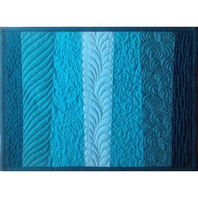 Free motion quilting course see web site