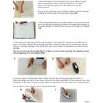 PATRON de COURTEPOINTE ARTISTIQUE pour débutant avec photos couleurs, Livraison gratuite