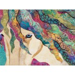 Horse Art Quilt  ANANCHEL  / GRACE, Free shipping Choose Pickup From Store and I will ship it