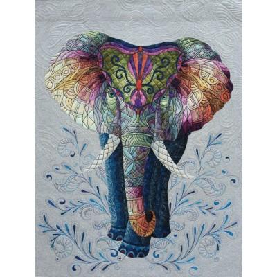 """ELEPHANT ART TEXTILE  """"Colourful Dream"""" Livraison Gratuite"""