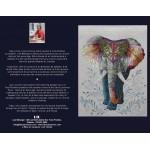 CARTE D'ART TEXTILE (CA024), LIVRAISON GRATUITE/Choisir Cueillette en Magasin