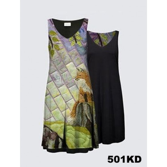 LE RENARD ET L'OISEAU Robe Kate 501KD