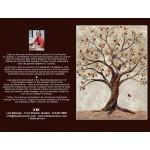 CARTE D'ART TEXTILE (CA010), LIVRAISON GRATUITE/Choisir Cueillette en Magasin