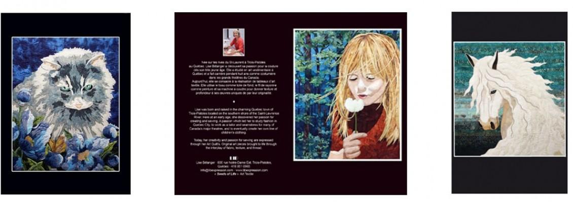 Cartes d'Art textile