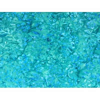 Batik Turquoise Floral