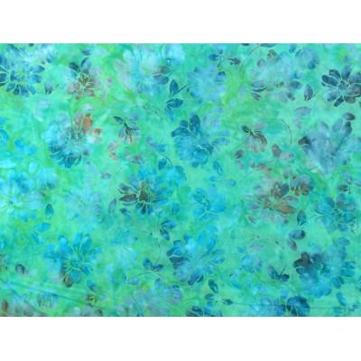 Batik Turquoise, SEULEMENT DEUX LONG QUARTER EN INVENTAIRE