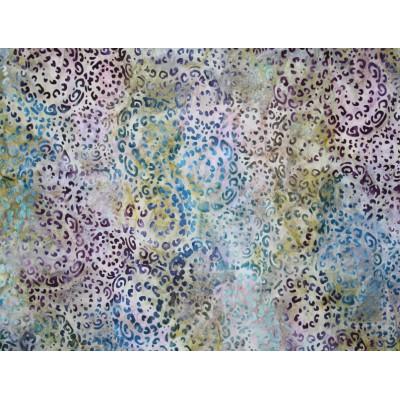 Batik Nature's creation 2 Teal/Robert Kaufman