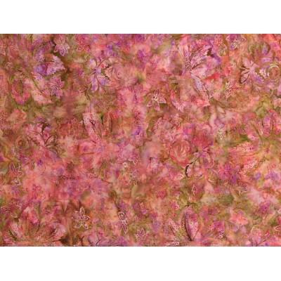 Batik fabric Sweet Pea/ Hoffman