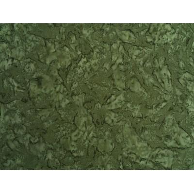 Batik Fabric Prisma dyes Moss/ Robert Kaufman