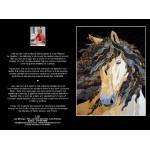 CARTE D'ART TEXTILE (CA018), LIVRAISON GRATUITE/Choisir Cueillette en Magasin