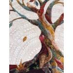 ARBRE DE VIE, Art Textile,  Livraison gratuite Canada, U.S