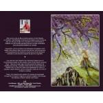 CARTE D'ART TEXTILE (CA016), LIVRAISON GRATUITE/Choisir Cueillette en Magasin